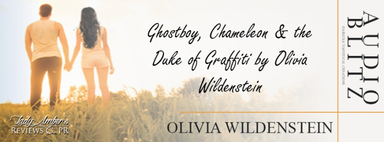 Book Banner 9- Olivia Wildenstein (Ghostboy Chameleon  the Duke of Graffiti Audio Blitz)