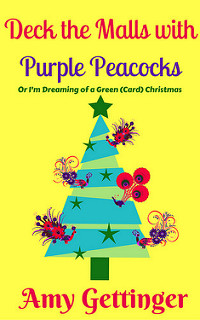 Deck The Malls with Purple Peacocks