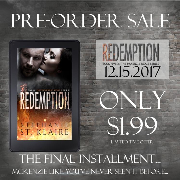 pre-order redemption