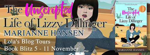 The Unscripted Life of Lizzy Dillinger banner