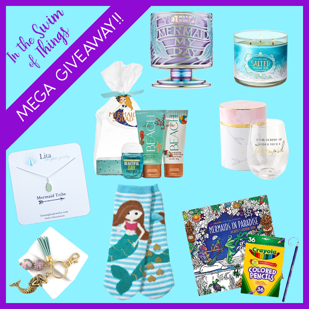 In The Swim of Things Giveaway teal