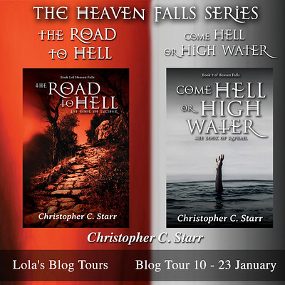 The Heaven Falls series banner square