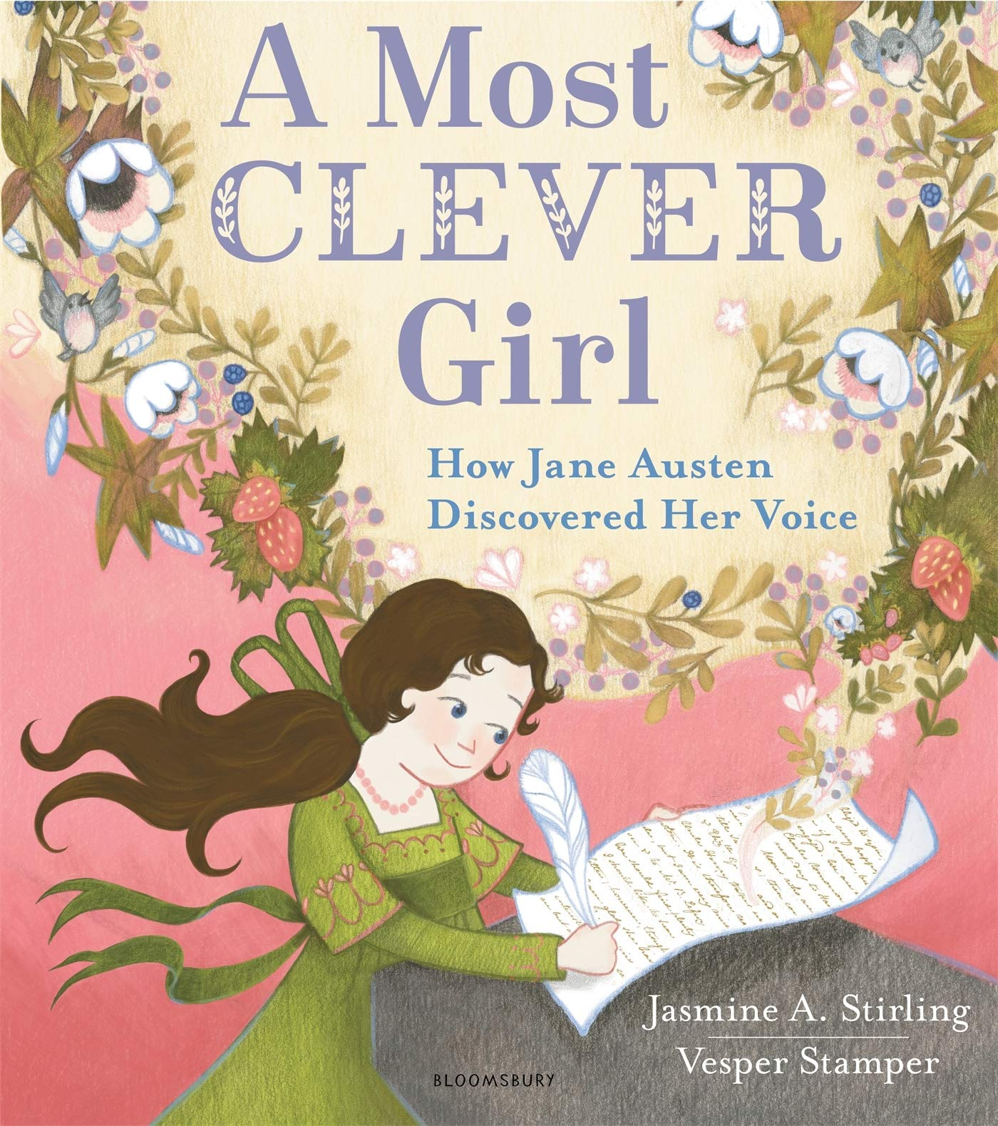 A Most Clever Girl Book Cover