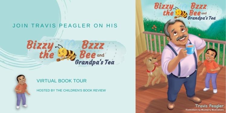 Bizzy Bzzz the Be and Grandpas Tea Awareness Tour